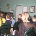 Настоятель Никольской церкви иерей Александр Рысин посетил с пастырским визитом городищенскую детскую школу искусств