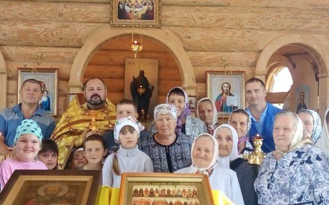В Никольском храме с. Дигилевка почтили память святой благоверной княгини Ольги
