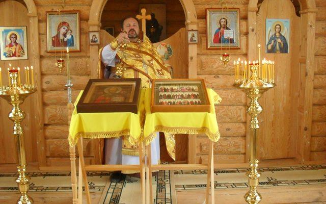 Божественная Литургия в день памяти святых апостолов Петра и Павла в селе Дигилевка